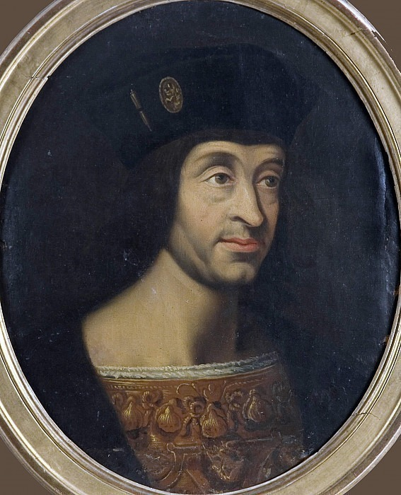Louis XII (1462-1515), king of France. Unknown painters