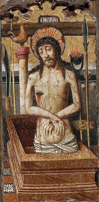 Christ crowned with Thorns. Unknown painters