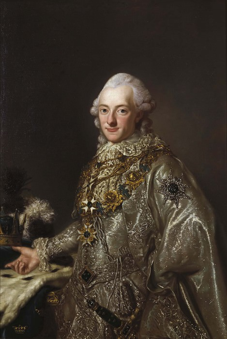 Karl XIII (1748-1818) King of Sweden and Norway. Unknown painters