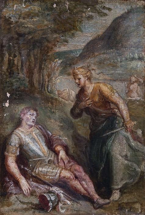Rinaldo and Armida. Unknown painters