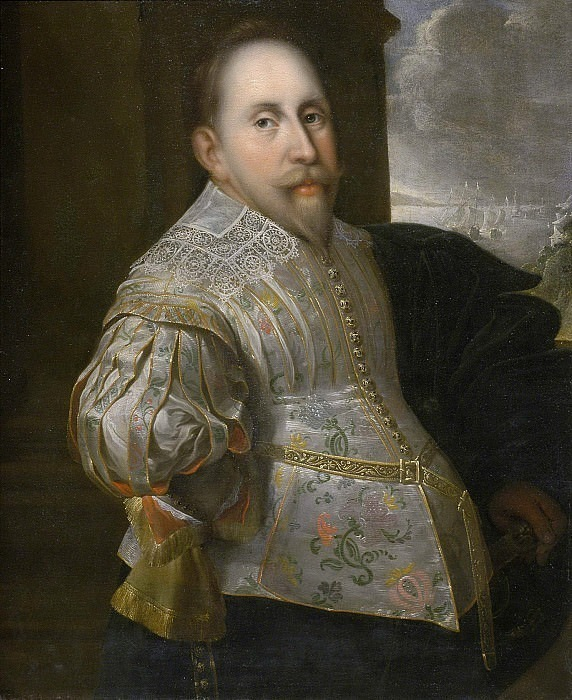 Gustav II Adolf (1594-1632), king of Sweden. Unknown painters