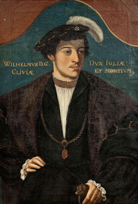 William (1516-1592), Duke of Jülich, Cleve and Berg. Unknown painters