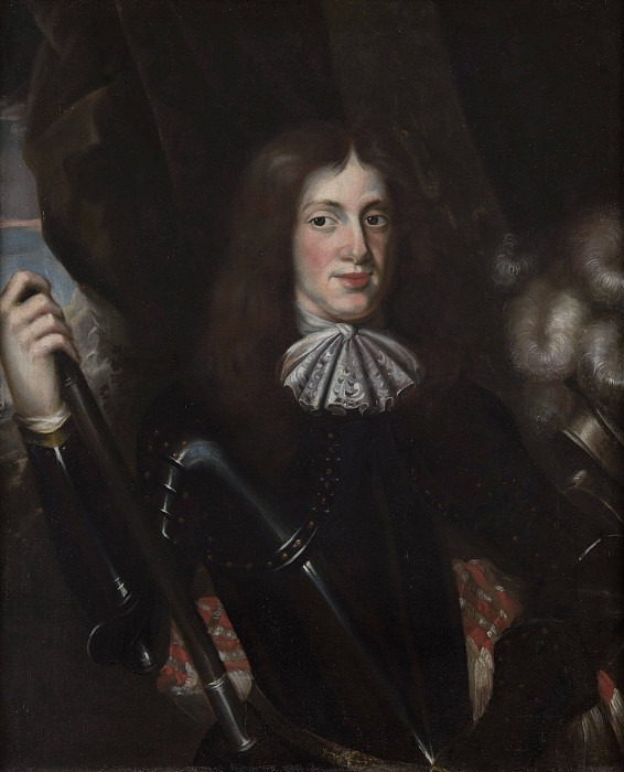 Fredrik Kasimir (1650-1698), Duke of Kurland. Unknown painters