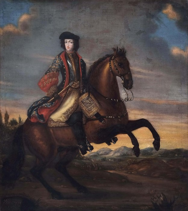 Fredrik IV (1671-1730), Duke of Holstein-Gottorp. Unknown painters