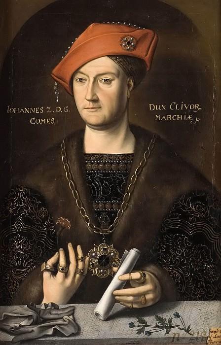 Johan II (1458-1521), Duke of Cleve. Unknown painters