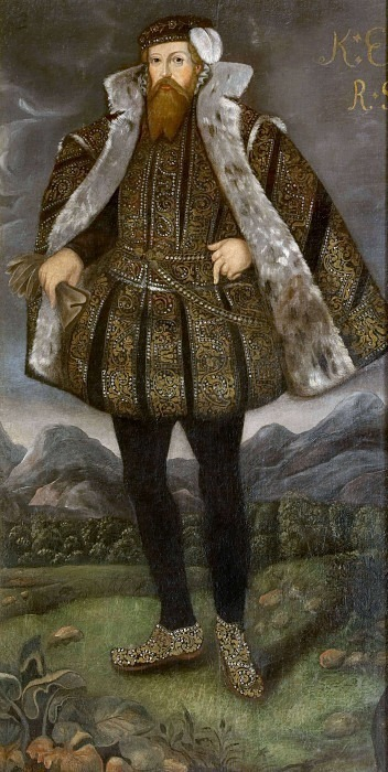 Erik XIV (1533-1577) king of Sweden. Unknown painters