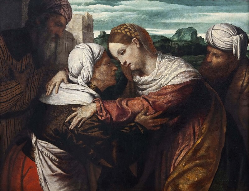 The Visitation. Unknown painters