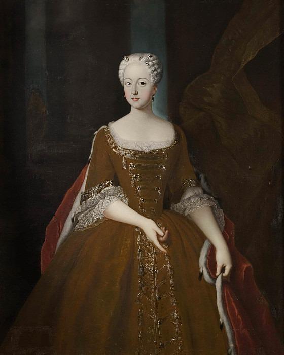 Fredrika Lovisa, Princess of Prussia. Unknown painters