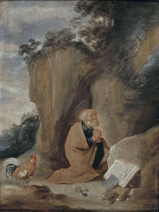 The Repentant St. Peter. Unknown painters