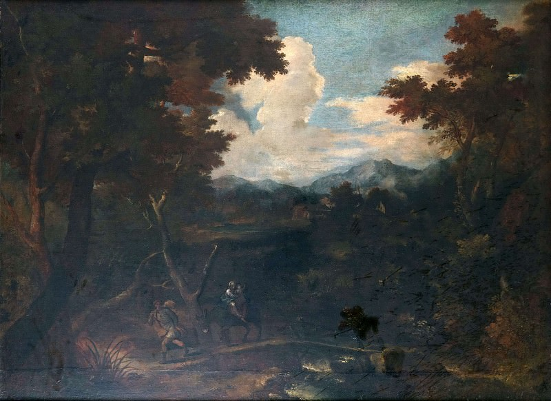 Landscape. Unknown painters