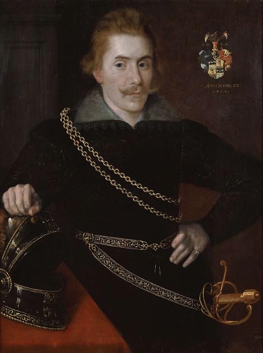 Portrait of count Jacob de la Gardie. Unknown painters