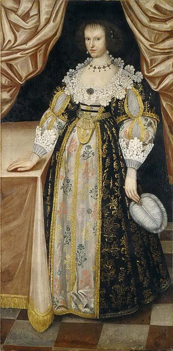 Неизвестная женщина, обозначенная как Анна Принцесса Швеции. Неизвестные художники
