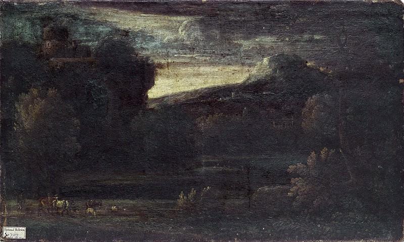 Landskap. Unknown painters