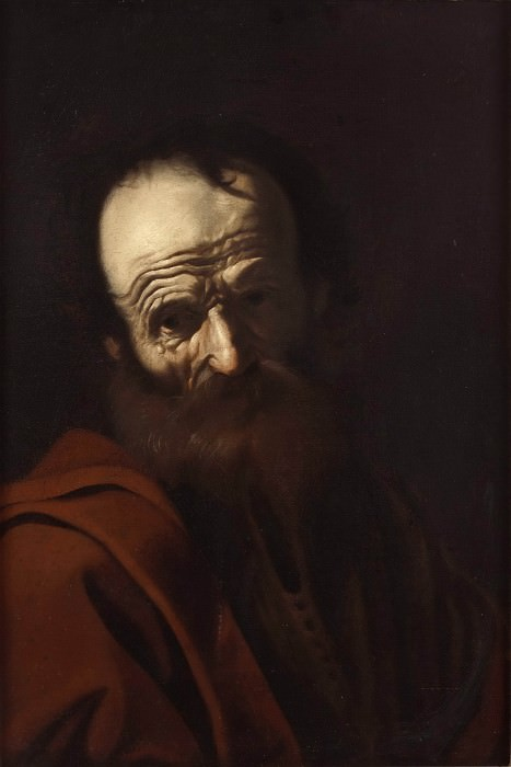 Portrait of an Old Man. Unknown painters