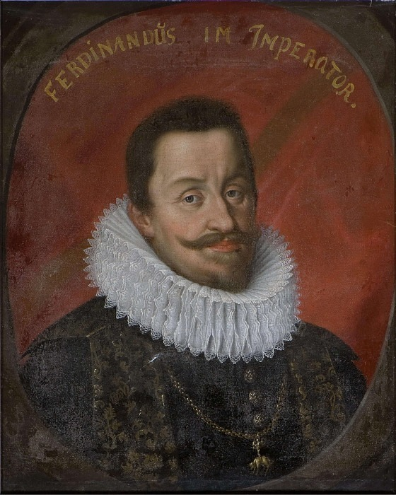 Ferdinand II (1578-1637), German-Roman Emperor King of Bohemia and Hungary. Unknown painters