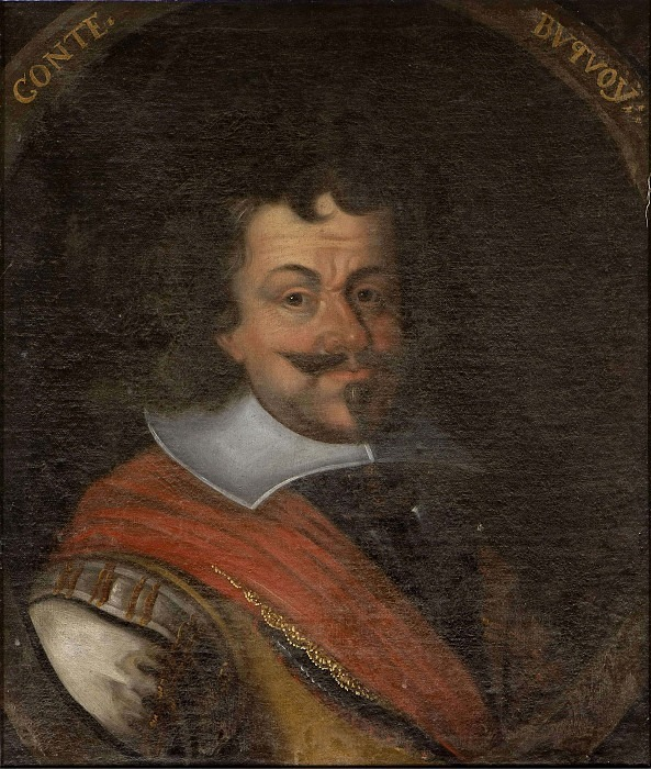Karl Bonaventura de Longueval Bouquoi (1571-1621), Count. Unknown painters