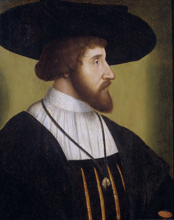 Kristian II (1481-1559), king of Denmark, Norway and Sweden. Unknown painters
