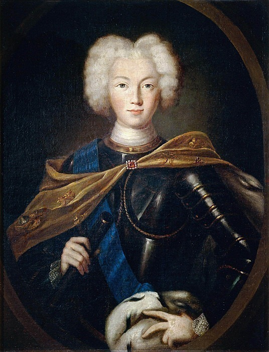Portrait of Emperor Peter II. Unknown painters