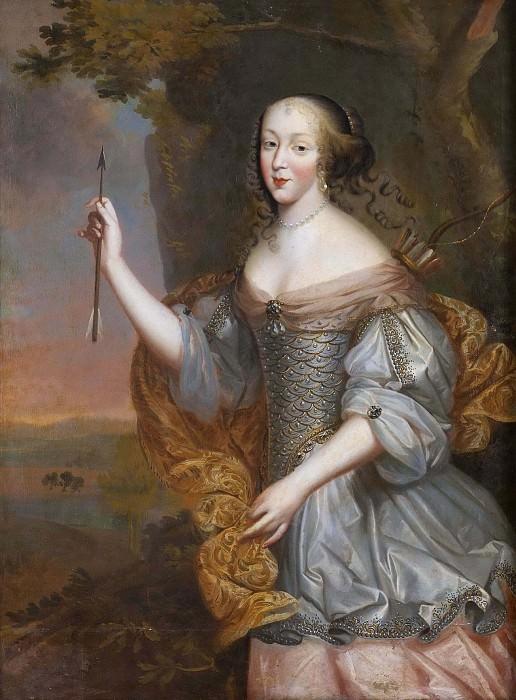 Элизабет Мадмуазель из Аленсона (1646-1696). Неизвестные художники
