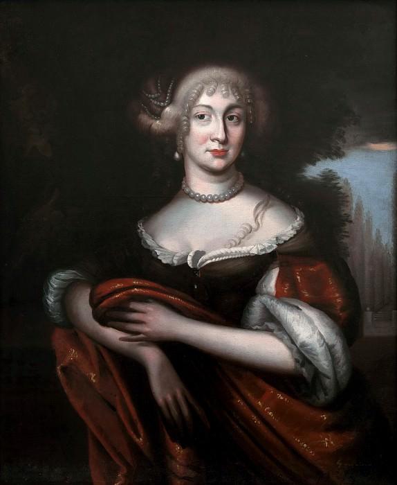Sofia Amalia, Princess of Nassau-Siegen. Unknown painters