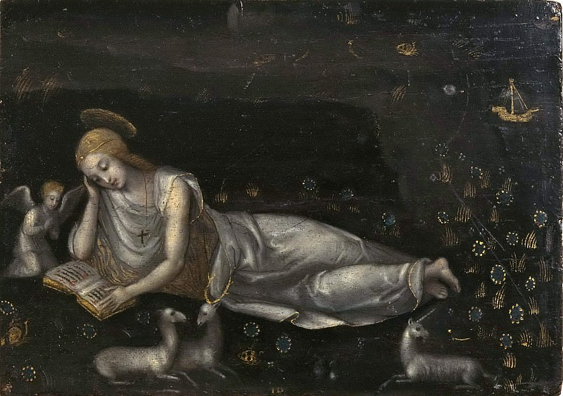 The Holy Magdalene. Unknown painters