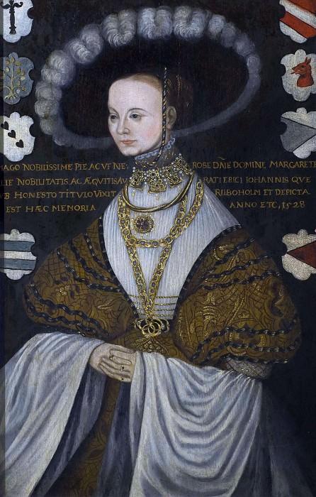 Margareta Eriksdotter, Sister of Gustav Vasa. Unknown painters