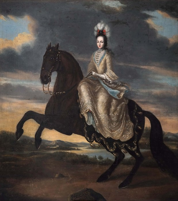 Hedvig Sofia, 1681-1708, Princess of Sweden Duchess of Holstein-Gottorp. Unknown painters