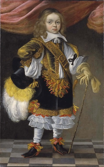 Louis (1661-1711), crown prince of France. Unknown painters