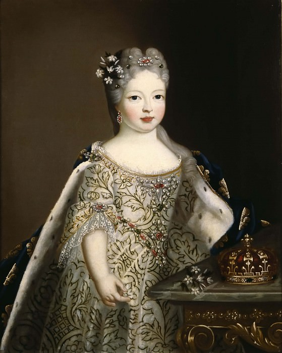 Maria Anna Viktoria (1718-1781), Princess of Spain. Unknown painters
