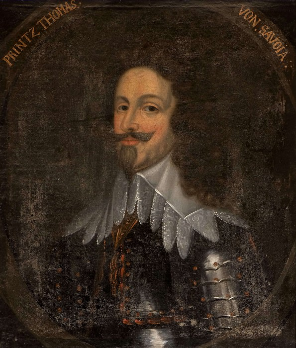 Thomas (1595-1656), Prince of the Savoy, Carignan. Unknown painters