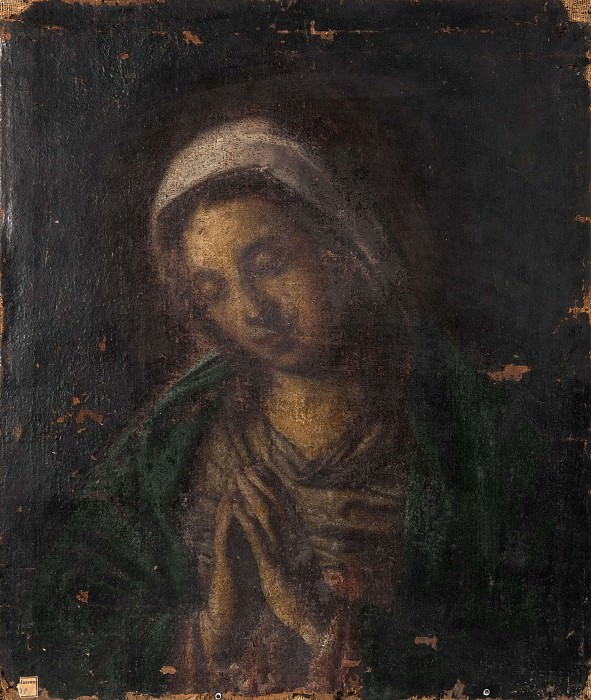 Madonna. Unknown painters