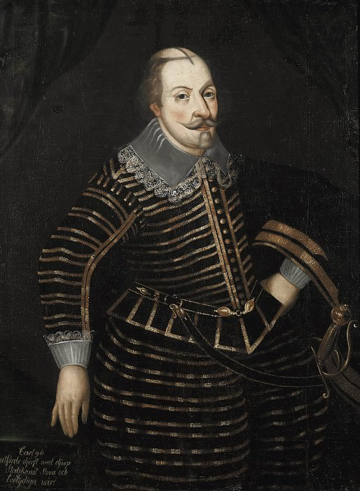 Karl IX (1550-1611), King of Sweden. Unknown painters