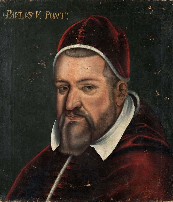 The Pope Paulus V. Unknown painters
