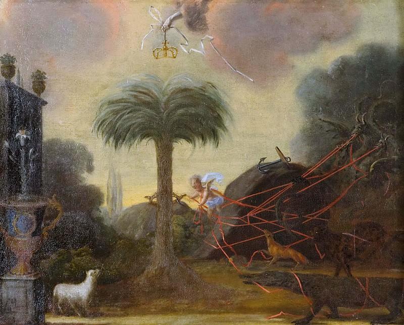 Allegori. Unknown painters