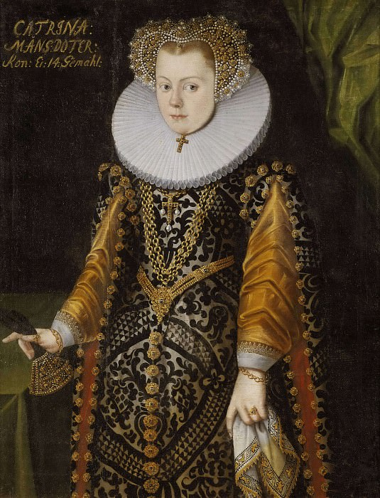 Unknown woman, formerly called Elizabeth (1549-1597), Princess of Sweden, Duchess of Mecklenburg. Unknown painters