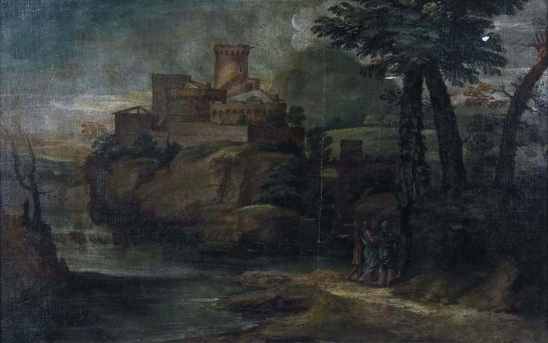 Христос с двумя учениками в Эммаусе. Неизвестные художники