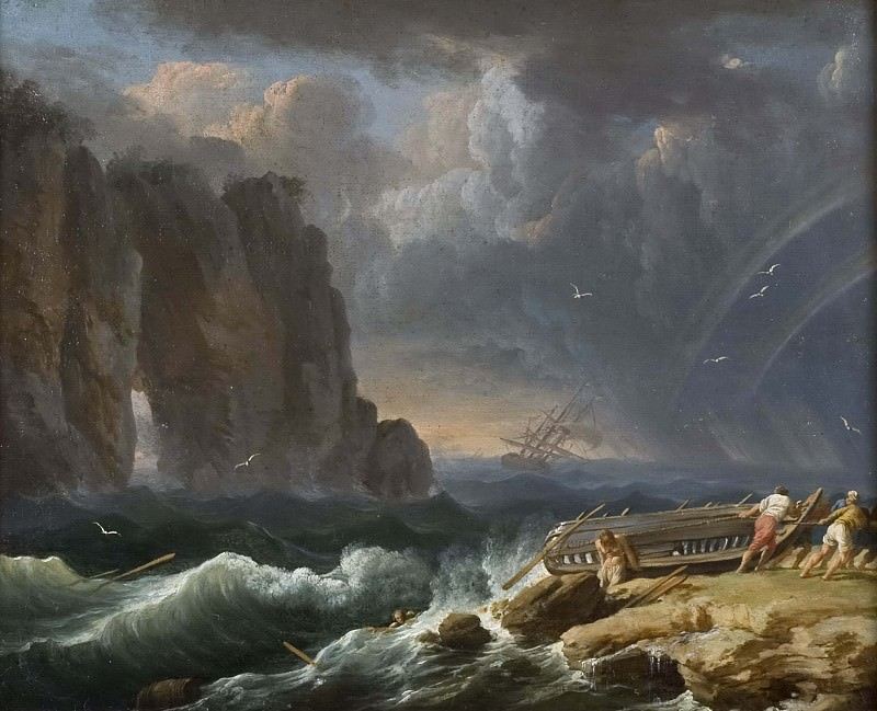 Shipwreck. Unknown painters