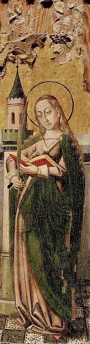 St. Barbara. Unknown painters