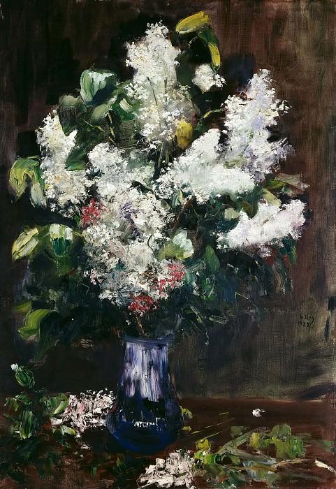 Lilac Bouquet. Lesser Ury