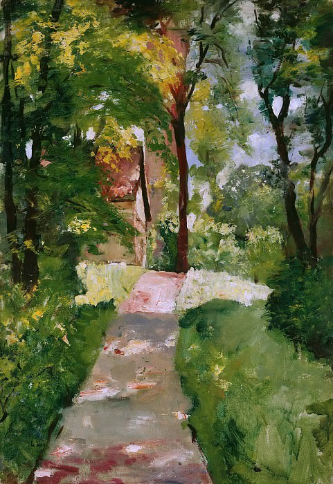 Morning sun. Lesser Ury