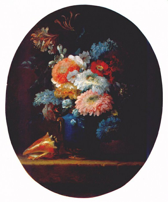 vallayer-coster vase of flowers 1780. Anne Vallayer-Coster