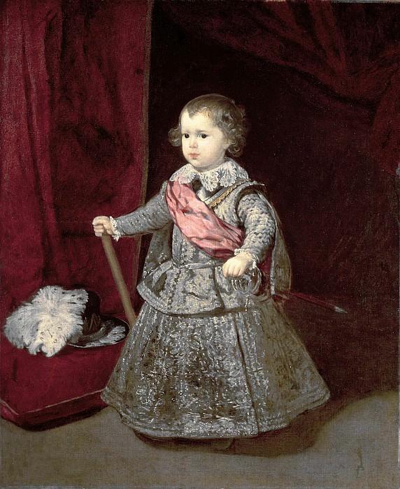 Prince Balthasar Carlos. Diego Rodriguez De Silva y Velazquez