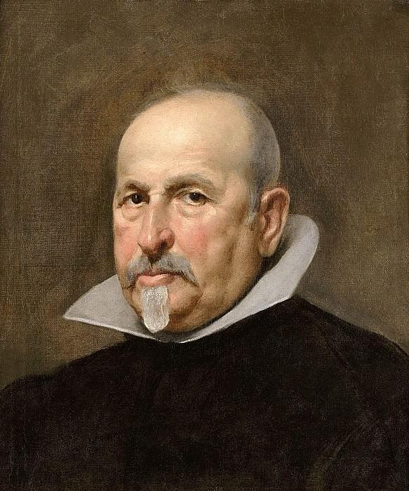 Portrait of a Man. Diego Rodriguez De Silva y Velazquez