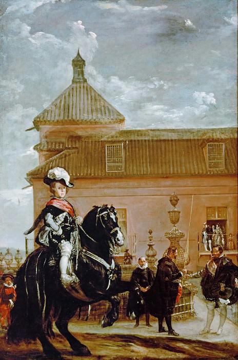 Equestrian Portrait of the Infante Baltasar Carlos. Diego Rodriguez De Silva y Velazquez