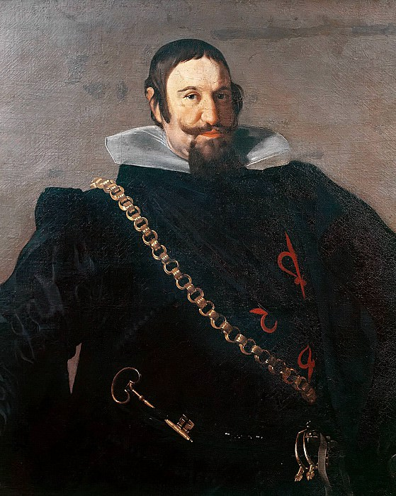 Caspar de Guzman, Count of Olivares. Diego Rodriguez De Silva y Velazquez