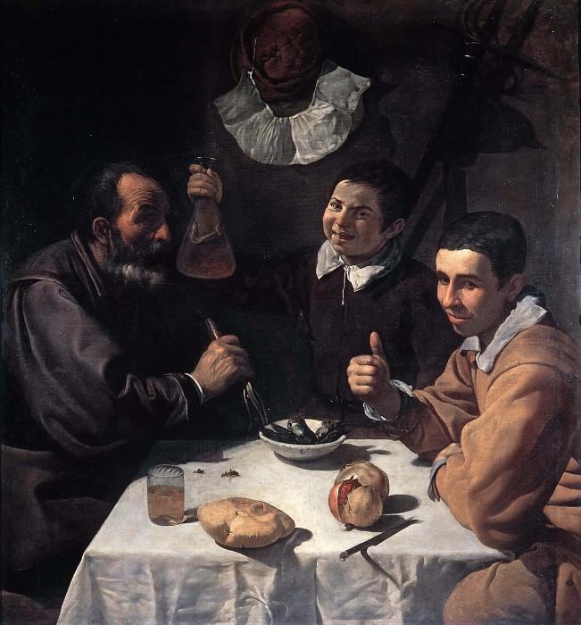 Luncheon. Diego Rodriguez De Silva y Velazquez