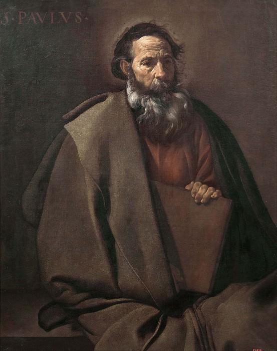 Saint Paul. Diego Rodriguez De Silva y Velazquez