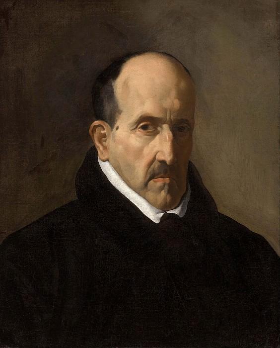 The Poet Don Luis de Gongora y Argote. Diego Rodriguez De Silva y Velazquez