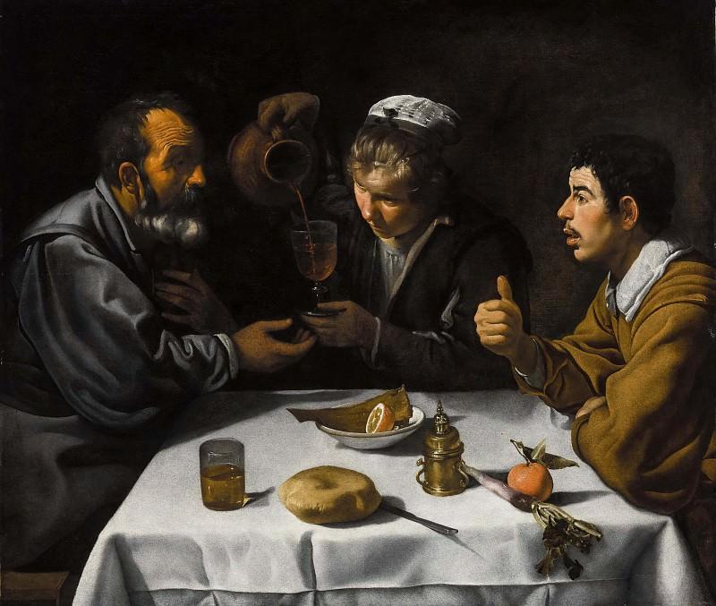 Tavern Scene. Diego Rodriguez De Silva y Velazquez