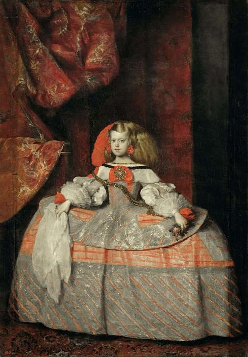 Infanta Margarita. Diego Rodriguez De Silva y Velazquez